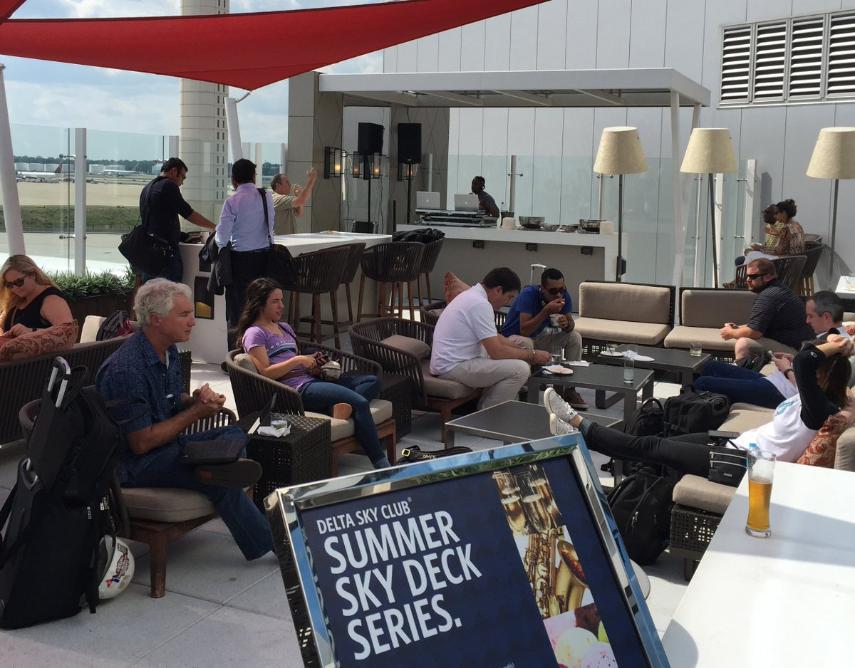 .@Delta Sky Club launches Sky Deck Summer Series in Atlanta &