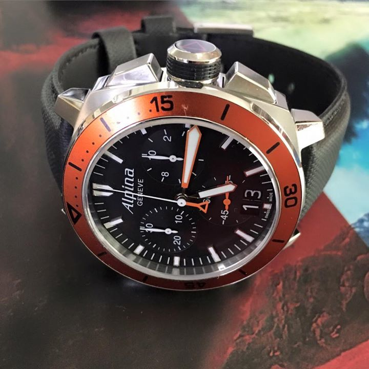 What do you think of the Alpina Diver 300 Quartz, professional diving watch? Discover the watch here: … https://t.co/PXeS5FhxdV
