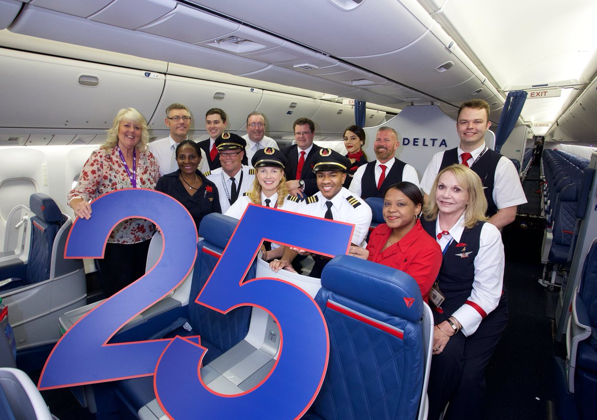 .@Delta celebrates quarter of a century in Manchester! | Delta News Hub