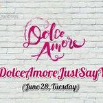 Abangan ang mga nakakakilig na tagpo, mamayang gabi na yan sa #DolceAmoreJustSayYes https://t.co/SUauazQZId