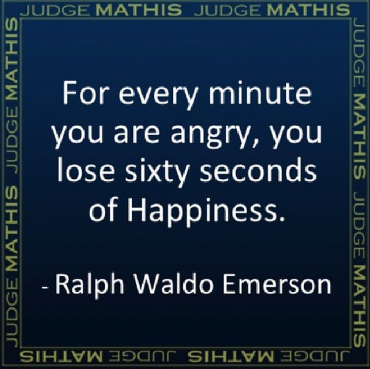 """For every minute you are angry, you lose sixty seconds of happiness."" - Ralph Waldo Emerson #Quote https://t.co/E1gAG8HEXH"