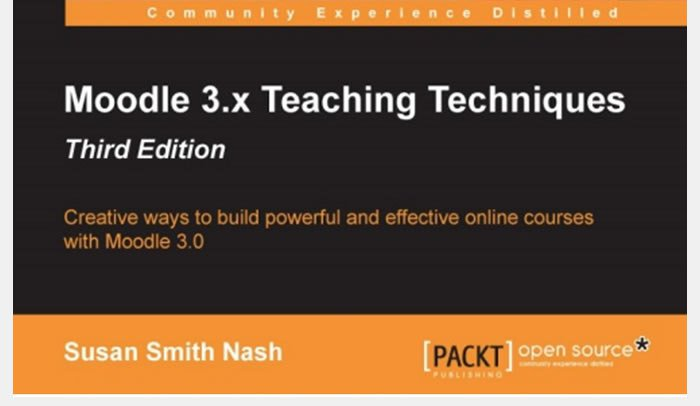 New eBook Explains How to Leverage #Moodle 3 for Higher Engagement in Online Courses… https://t.co/5zlsYPyQqd https://t.co/AFadU3Y6Ls