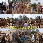 Under welfare activityAashiyana, volunteers constructing home for a poor needy family. Blessings! #MSGforHumanity https://t.co/EtP2ug2LQs