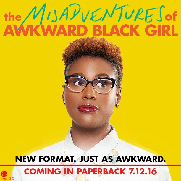Pre-order your copy of the #AwkwardBlackBook today or visit your favorite book retailer on July 12th. https://t.co/eVnsLOsQoi