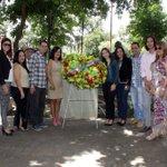 #FelizDíaDelPeriodista Hoy celebrando junto al @CNP_Carabobo con ofrenda floral #Valencia https://t.co/VOREP30Smo