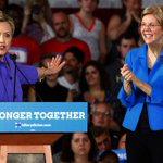 Hillary Clinton and Elizabeth Warren fuel speculation of first all-female White House ticket https://t.co/jSTD9C7Meu https://t.co/is34JmAUM7