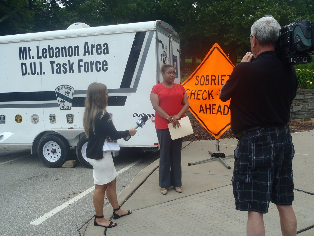 #PennDOT teamed up with @MtLebanonPolice and @TeamDUI to discourage impaired driving over the 4th of July holiday https://t.co/y5U95N3lK1