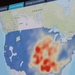 Guy Carpenter on how Web GIS helps the reinsurance company -for example #tornado risk map #EsriUC https://t.co/68QlF8rmwY