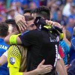 Abrazo entre dos porteros que marcaron una generación. Gigi e Iker. ???????????????? https://t.co/ADI8sZsZg4