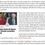 Yes, folks, NVs Bernie campaign was a well-oiled machine. Convention=disaster. Must-read: https://t.co/574oOLlW28 https://t.co/ceq9FgbmLO