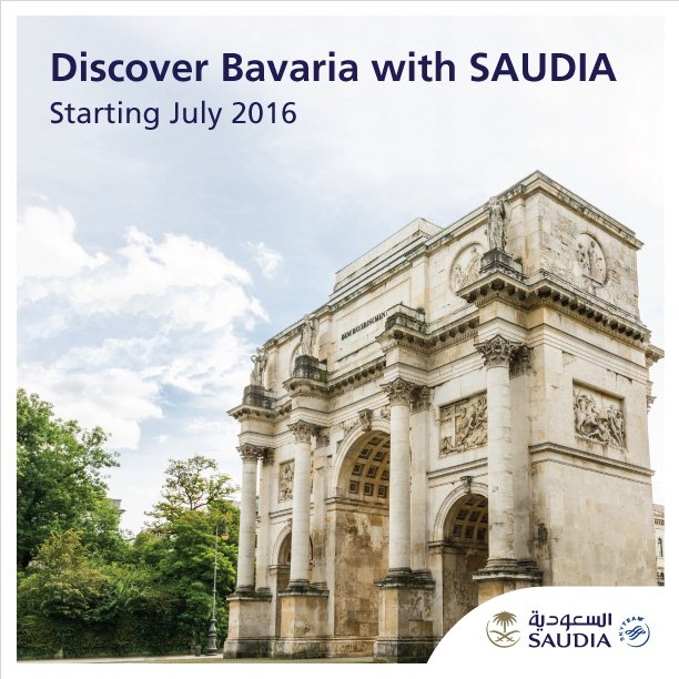 Discover Bavaria with SAUDIA  Book