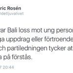 """""""Ung person"""" = AFA-aktiv kommunikatör hos SR & UR.  Hur hade Rosén & Co reagerat om en aktiv nazist har det jobbet? https://t.co/an3TlWdBp6"""