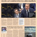 Just published: front page of the Financial Times, international edition, Tuesday 28 June https://t.co/lIuXkLuOJF