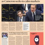 Just published: front page of the Financial Times, UK edition, Tuesday 28 June https://t.co/2iuocL9PVF