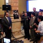 El Secretario Ejecutivo durante su participación en el 1er. Foro Internacional para la Seguridad en Michoacán #NSJP https://t.co/MaUB7J5bGP