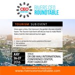 Lets Talk #Tourism in RiversState! register to attend #Subevent https://t.co/7n2DBOBQmy @PHMicroscope @PHTafia https://t.co/dLU904Z9Zy
