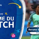 Renato Sanches est élu homme du match de #CRO - #POR ! https://t.co/oJReddncaK