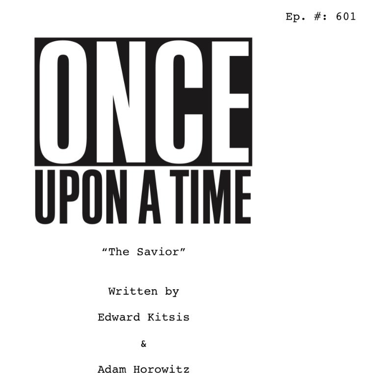 Here we go!  The first #OnceUponATime #titlespoiler of season 6 -- hope to see ya this fall! https://t.co/rdMSGXS1ck