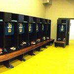 Vestiário do #Cruzeiro preparado para receber os atletas. #FechadoComOCruzeiro https://t.co/lsDepWolnr