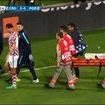 C.Ronaldo sort sur civière. Coup dur pour le Portugal #CROPOR https://t.co/BdMokYtMOe