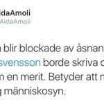 I dag jobbar hon på UR. När tweeten skrevs för mindre än ett år sedan var hon anställd av SVT... https://t.co/AAJOKyCYA9