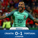 A dramatic climax in Lens as Quaresma sinks Croatia with a 117th-minute winner. #CROPOR #EURO2016 https://t.co/SjYuIj7MW4
