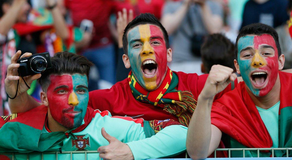 Acabou o jogo. Portugal está nos quartos de final! #eurortp https://t.co/zcaAkTCYUu https://t.co/GmE3HzoZK3