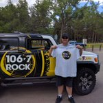 Bryce showing some @1067Rock love! @LethDragonFest #YQL https://t.co/1ylVpZE2nn