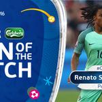 #POR midfielder Renato Sanches is the @carlsberg Man of the Match ???? #EURO2016 https://t.co/wiHIQBjGfK