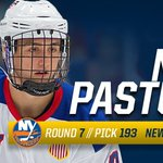 Incoming freshman forward Nick Pastujov (@Pasta_sauce) selected by @NYIslanders in 7th Rd. of NHL Draft! #GoBlue https://t.co/ofdA1ANCjd