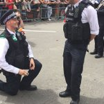 London police officers propose at Pride parade. No, youre crying https://t.co/zuG0v7QI9S https://t.co/i7R8wVi4Nl