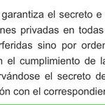 . @lortegadiaz Usted que dice estar comprometida con la justicia, haga respetar la constitución #InformarNoEsDelito https://t.co/0AnT94o6HS