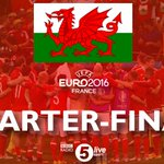 #WAL are through to the #Euro2016 quarter-finals! Theyve won their first ever knock-out game. #WAL 1-0 #NIR https://t.co/SWFTkoxxqT