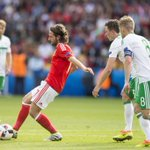 Congratulations to Joe Allen and @dan_ward52 on reaching the #EURO2016 quarter-finals with #WAL! ???? https://t.co/KCVYcaiNi2