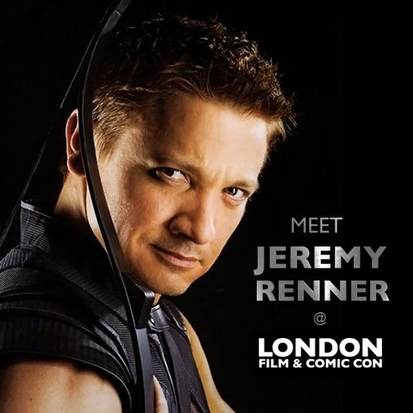 #LFCC guest - @Renner4Real - https://t.co/jHaqwz2EQ9  #Marvel #Hawkeye #Avengers #MissionImpossible #movies #London https://t.co/OxKEp4HnSc
