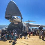 Calling the C-5 Super Galaxy humongous is a serious understatement. #HillAirShow #wowksl https://t.co/LM64roPjb6