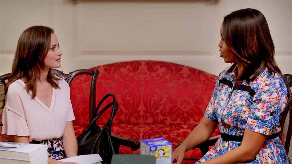 GilmoreGirls: Watch Rory meet Michelle Obama