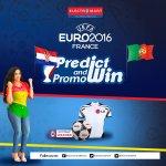Last match of the day. Predict the scoreline #Cro vs #Por #ElectroEuros2016 https://t.co/NSQNlFZfna