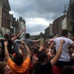 Some great pics and video coming as Wrexham celebrates (& praise to the police too !) https://t.co/2X7j9qFdOc https://t.co/zbTFwQgM8A