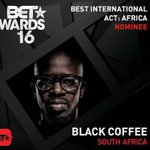 Congratulations to @RealBlackCoffee for winning the Best International Act: Africa award. #BETAwards16 ???????????????? https://t.co/T3SqDSYxdL