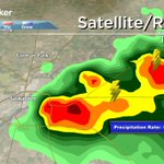 Heavy rain has just moved in to the east side of the city. #yxe #Sask #skstorm https://t.co/sXrQ3F3Ze2
