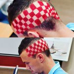 Perisic has gone all out with his hairstyle for tonights game v Portugal. #Euro2016 https://t.co/VtzofyiS1M