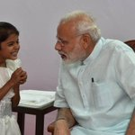 'Priceless moments with young Vaishali': PM Modi meets girl he helped with heart surgery