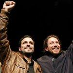 Desde Chile, un abrazo lleno de esperanza en el éxito de la izquierda española.Gran ejemplo de unidad #UnidosPodemos https://t.co/V7Bayb0e56