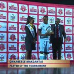 Congratulations to Onkabetse Makgantai for winning the player of the Tournament award #CosafaCastleCup 2016 🇧🇼 https://t.co/Xe2Otywq8P