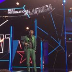He did it. #BlackCoffee has made history. The first South African to win a BET Award https://t.co/7XDSIDd4p1 https://t.co/X8lh6dHXSb