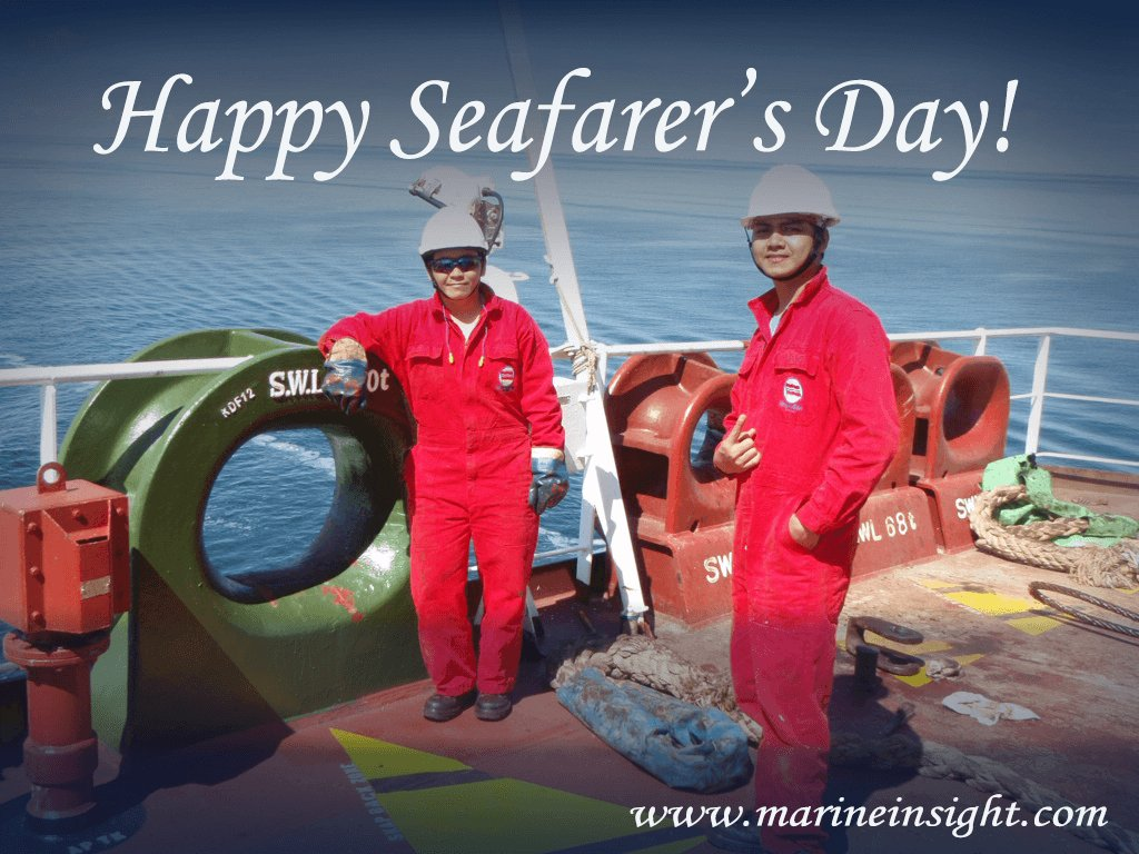 A Very Happy Seafarer's Day To all the Seafarer's!! #AtSeaForAll #ThankYouSeafarers https://t.co/6s8ncYcFV3