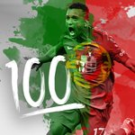 Nani earns his 100th cap for #POR tonight. Well played, sir. ???? #CROPOR #EURO2016 https://t.co/ztl21FA4b1