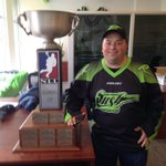 @SaskRushLAX @NLL Finally I got my photo with the Champions Cup. #rushnation #nll https://t.co/YrhwqgNW6H