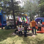 Great start to @VolunteerLeth #kidzone for the @LethDragonFest. Happy to be part of it. https://t.co/tRM3i1QogI
